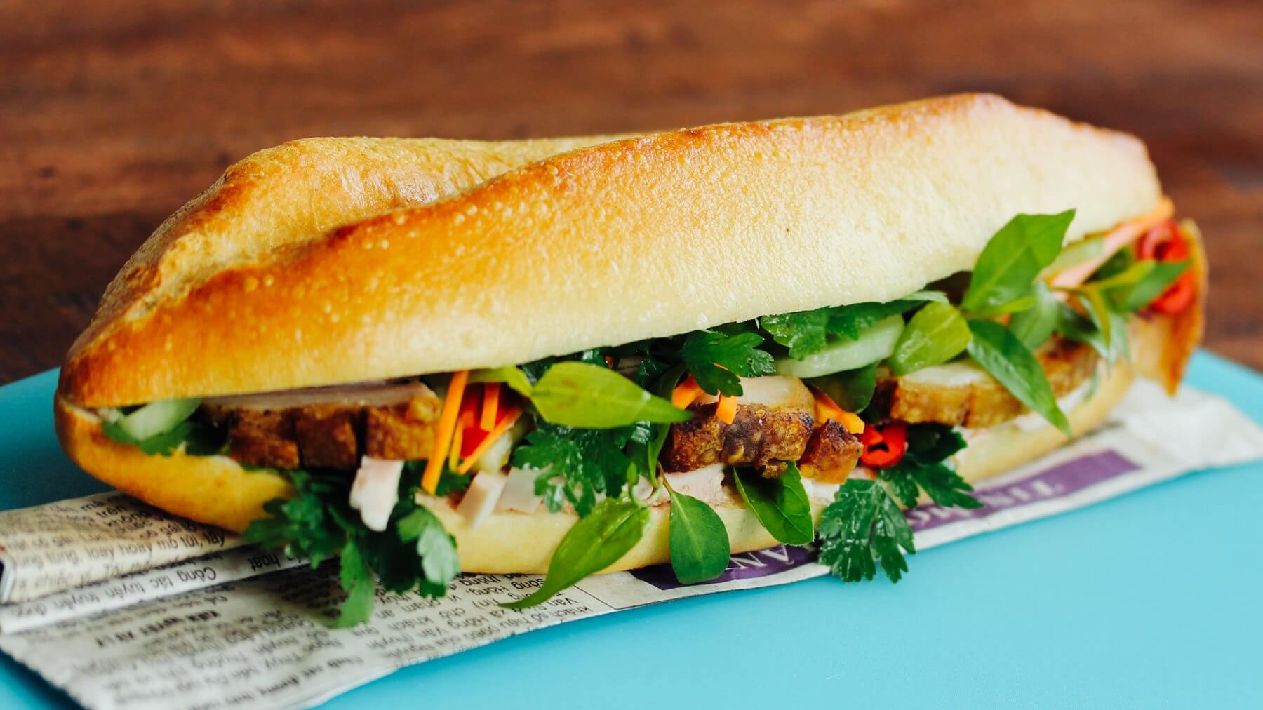 Sandwich á la Vietnam - Banh Mi