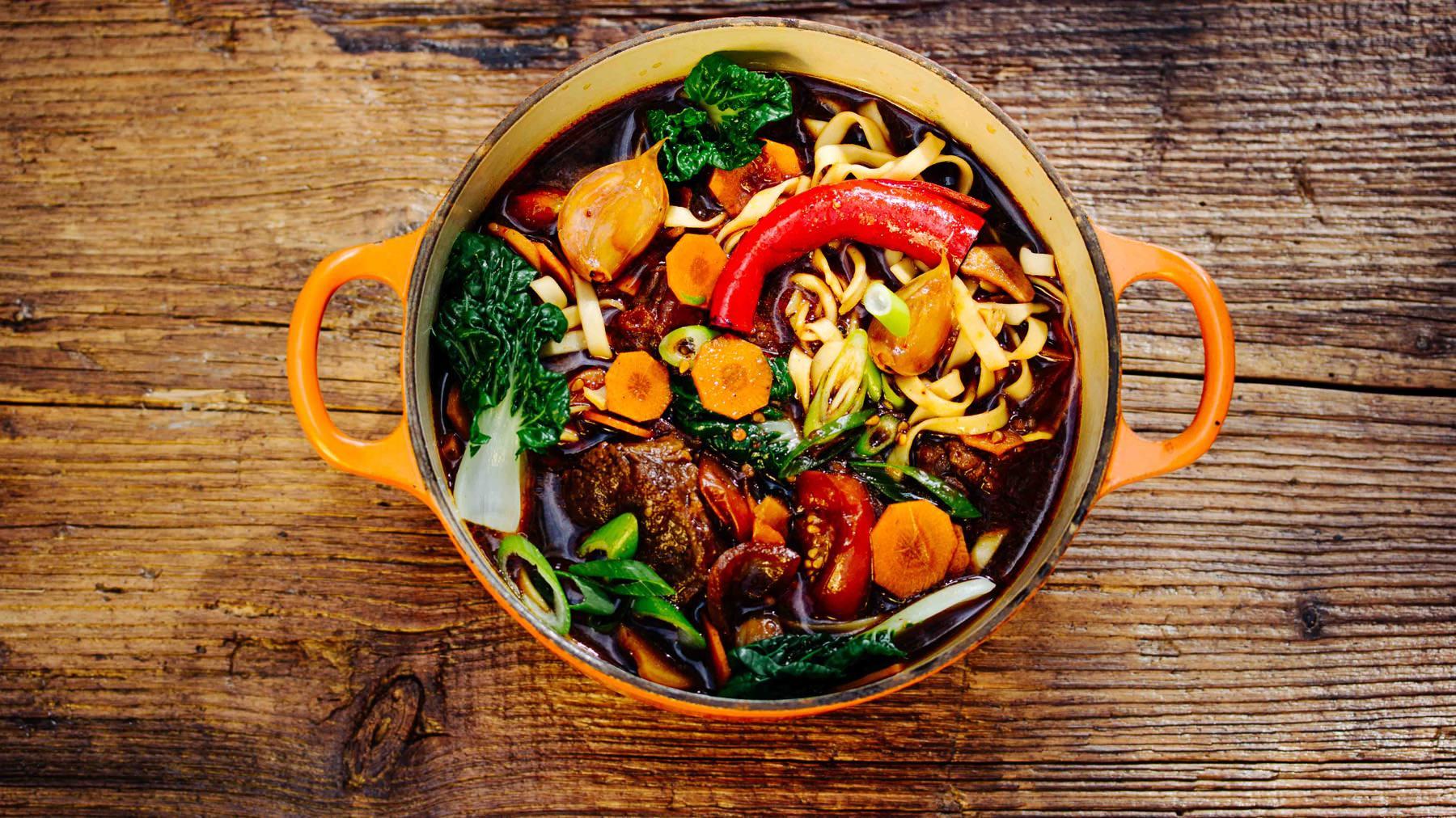 Taiwanesische Beef Noodle Soup – Niu Rou Mian