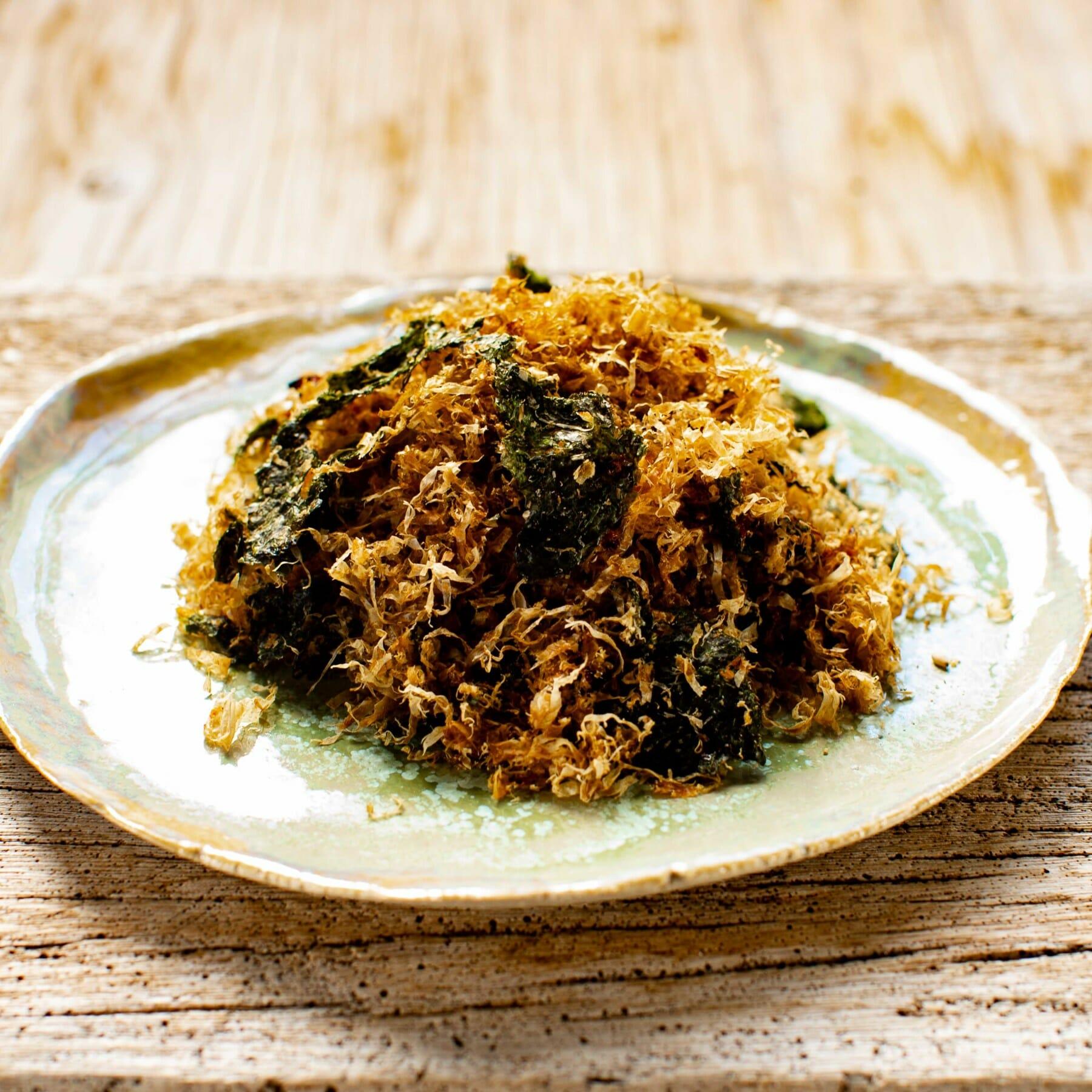 Japanischer gewürzter Reis