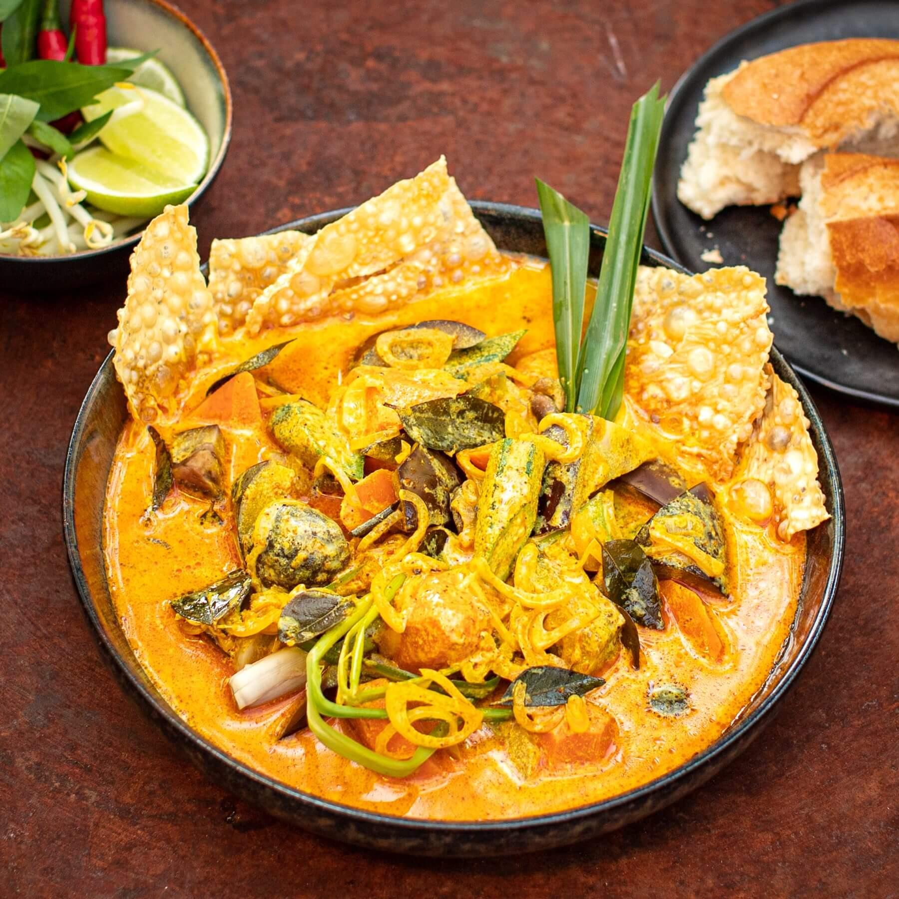 Veganes Gemüsecurry aus Vietnam