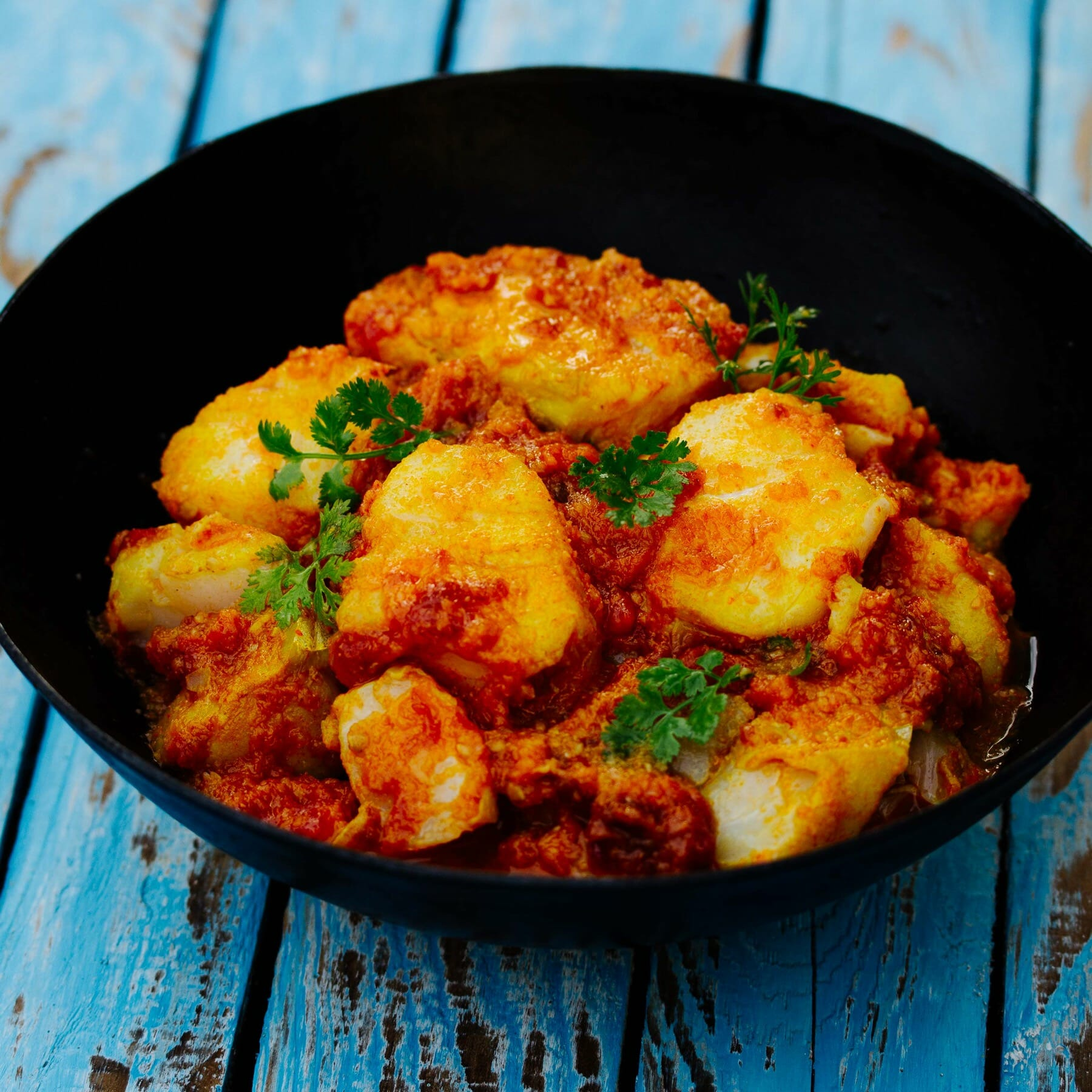 Fisch Curry aus Myanmar - Nga Sipyan