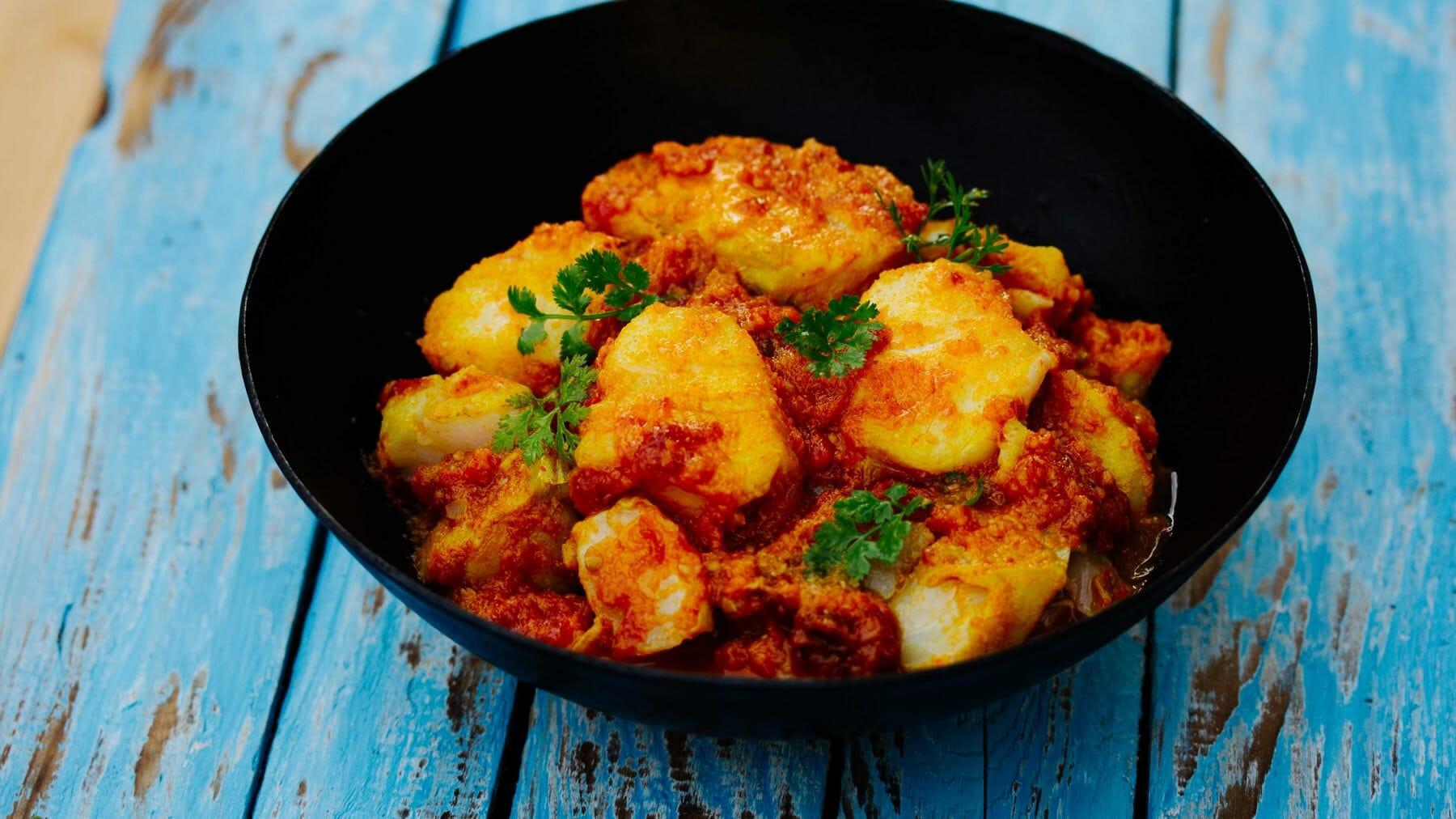 Fisch Curry aus Myanmar – Nga Sipyan