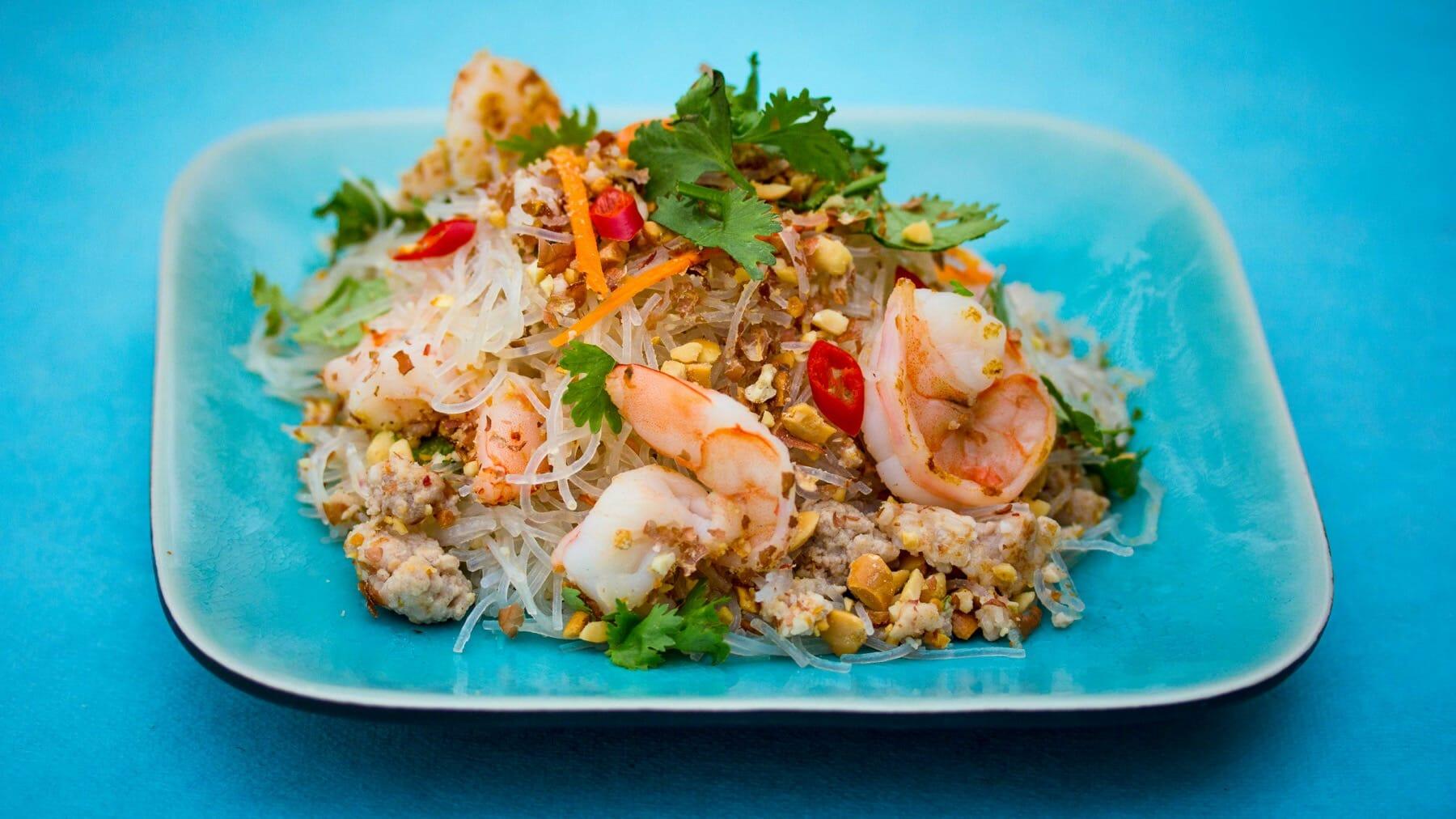 Thai-Glasnudelsalat – Yum Woon Sen