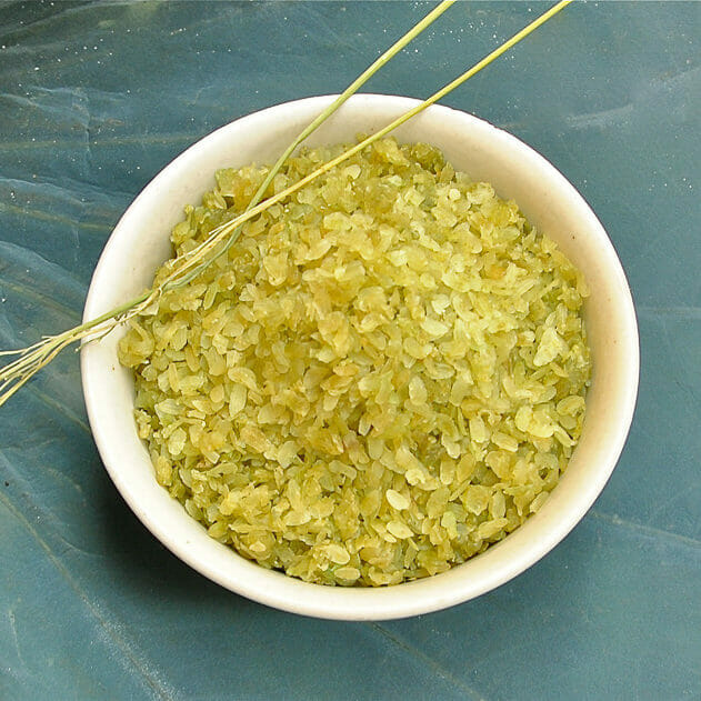 Grüner Reis aus Vietnam