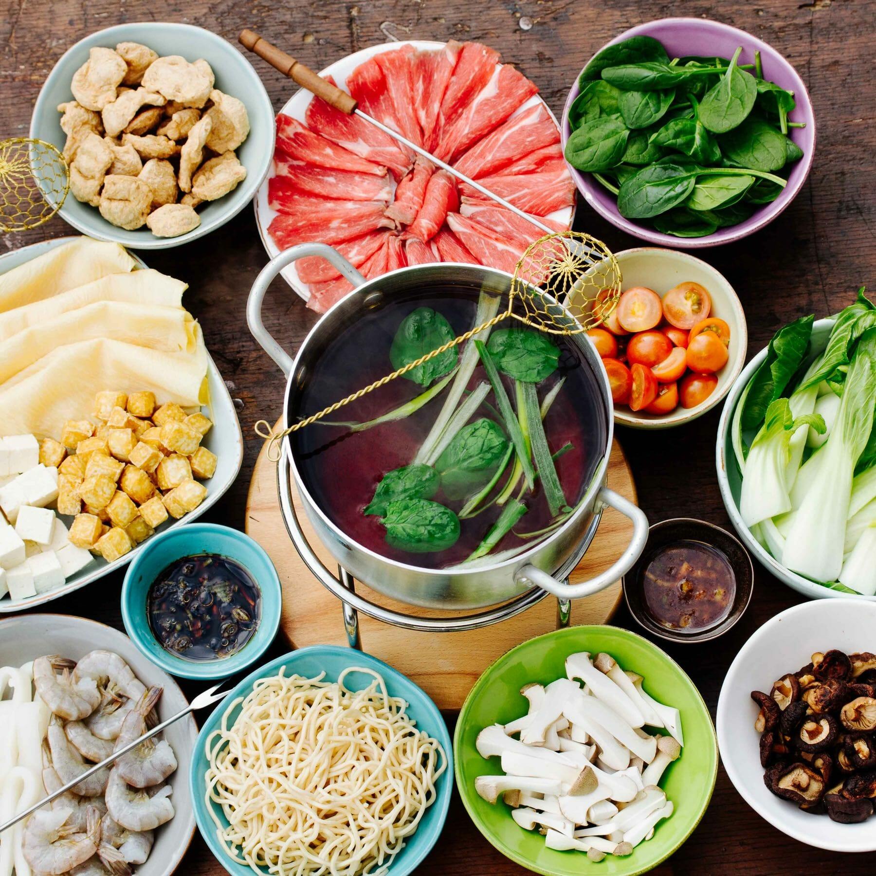 Taiwanesischer Feuertopf - Fondue - Huo Guo