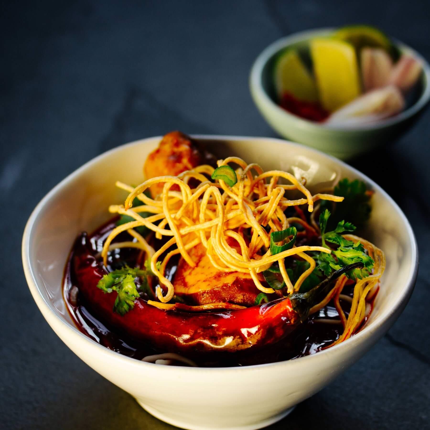 Khao Soi - Curry Nudeln aus Chiang Mai