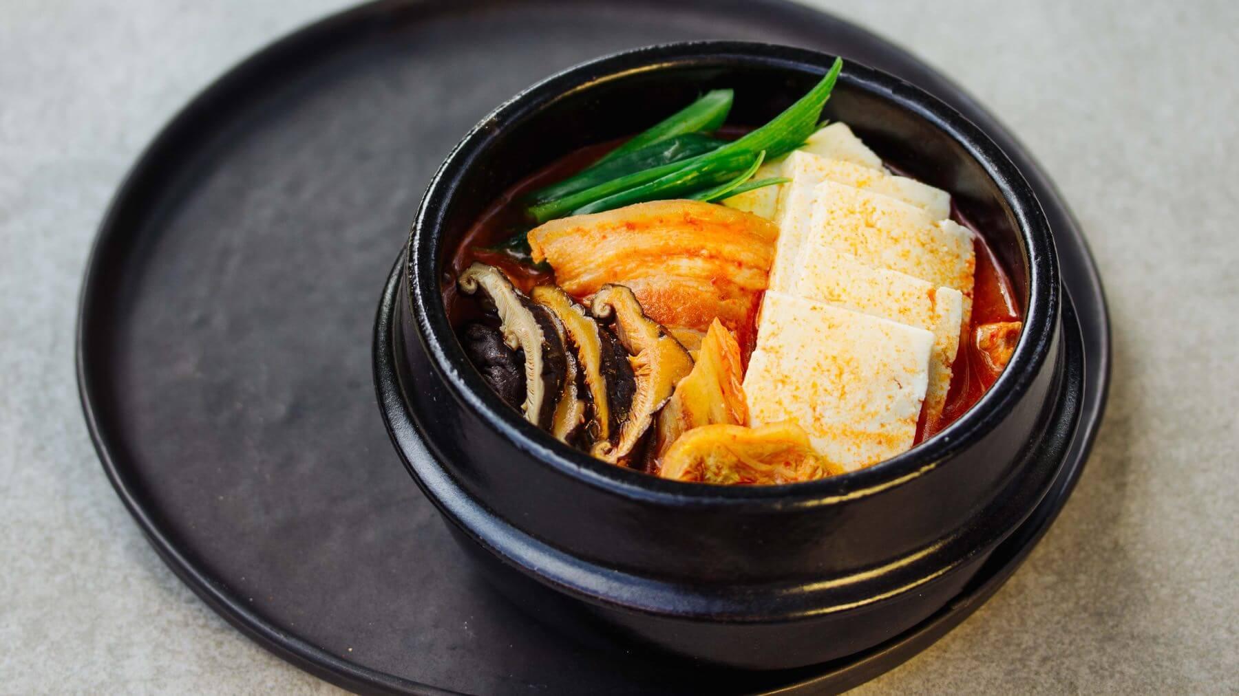 Koreanischer Kimchi Eintopf – Kimchi Jjigae