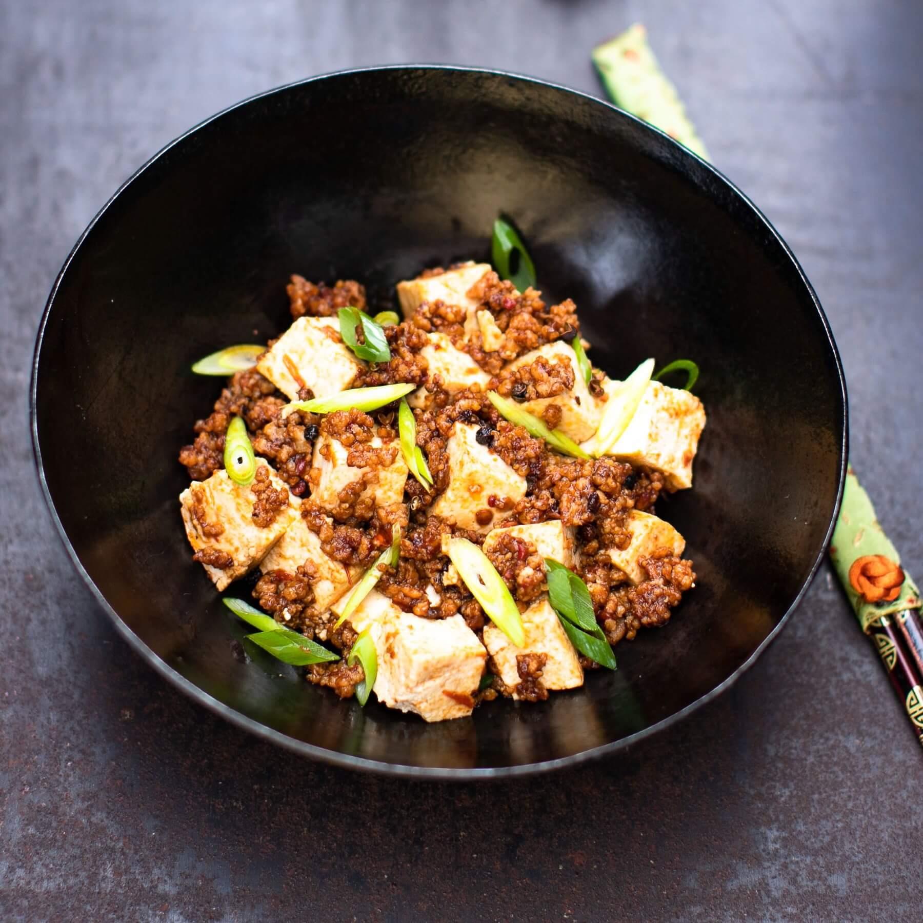 Mapo Tofu - Rezept aus Szechuan