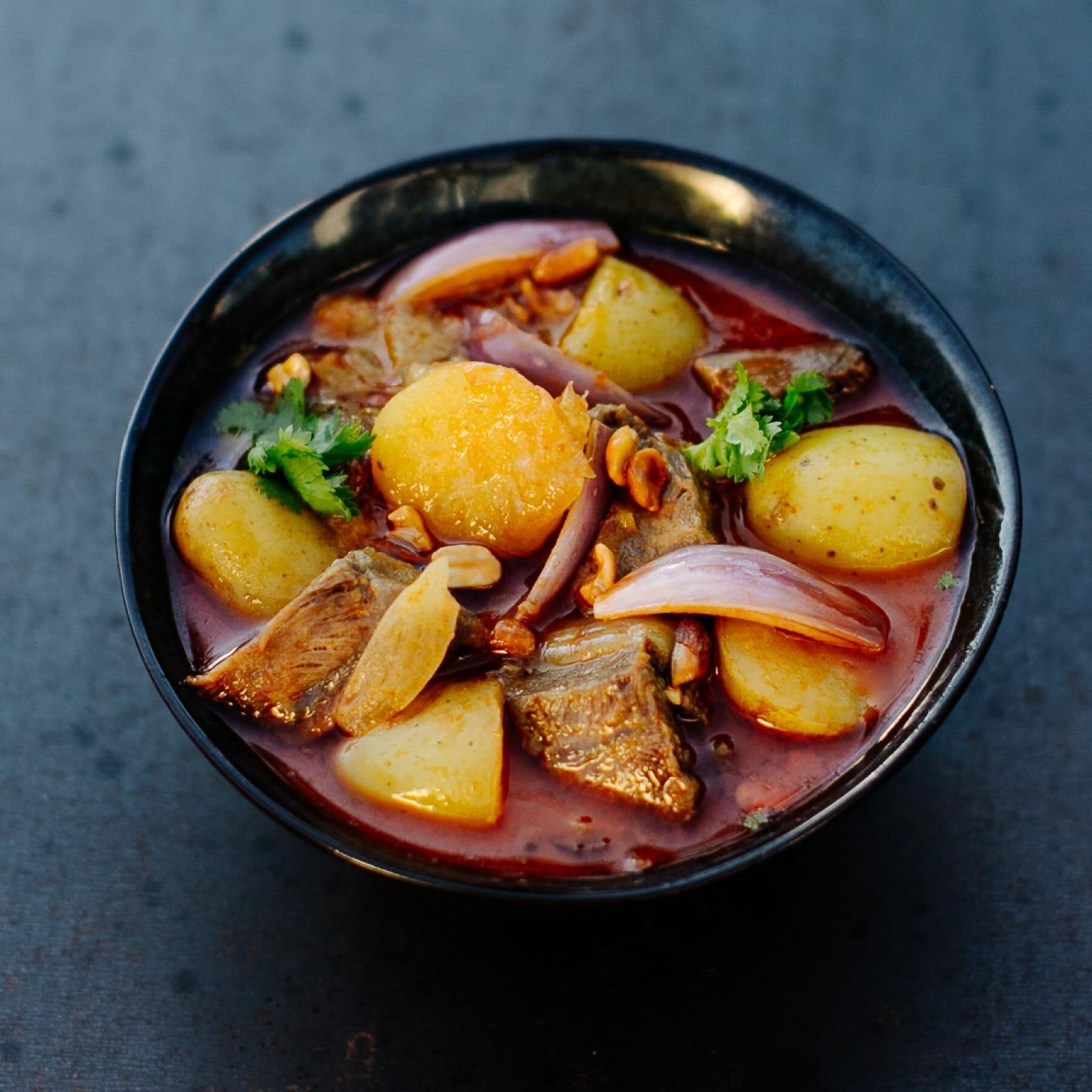Massaman Curry aus Thailand