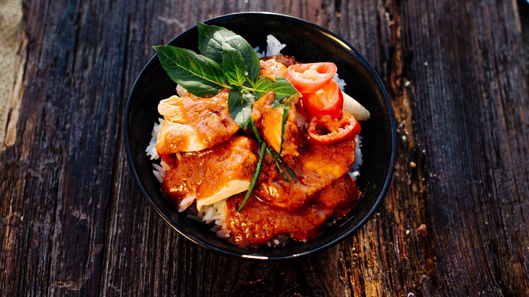 Panang Curry aus Thailand – Gaeng Panang