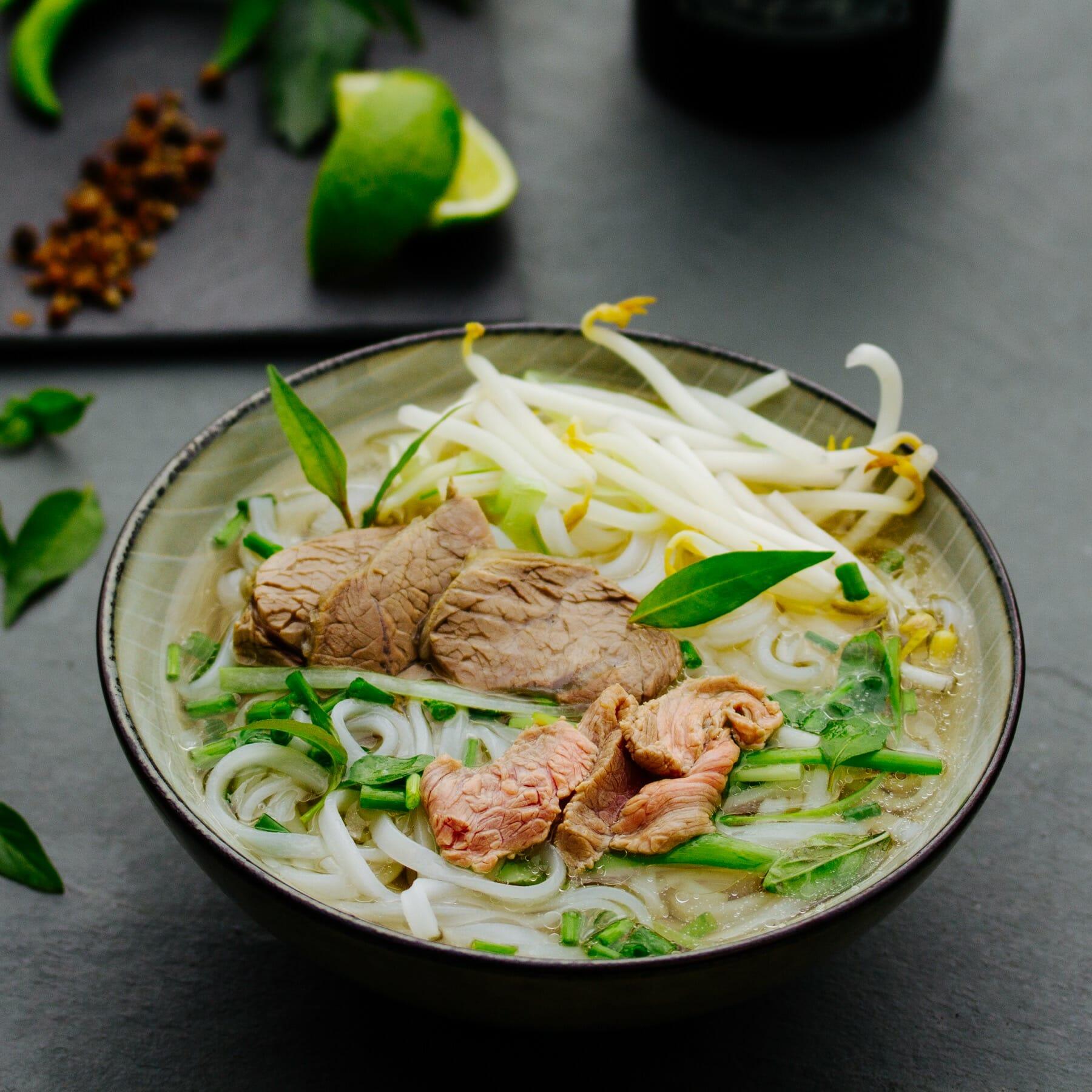 Pho Bo Saigon - Vietnamesische Nudelsuppe