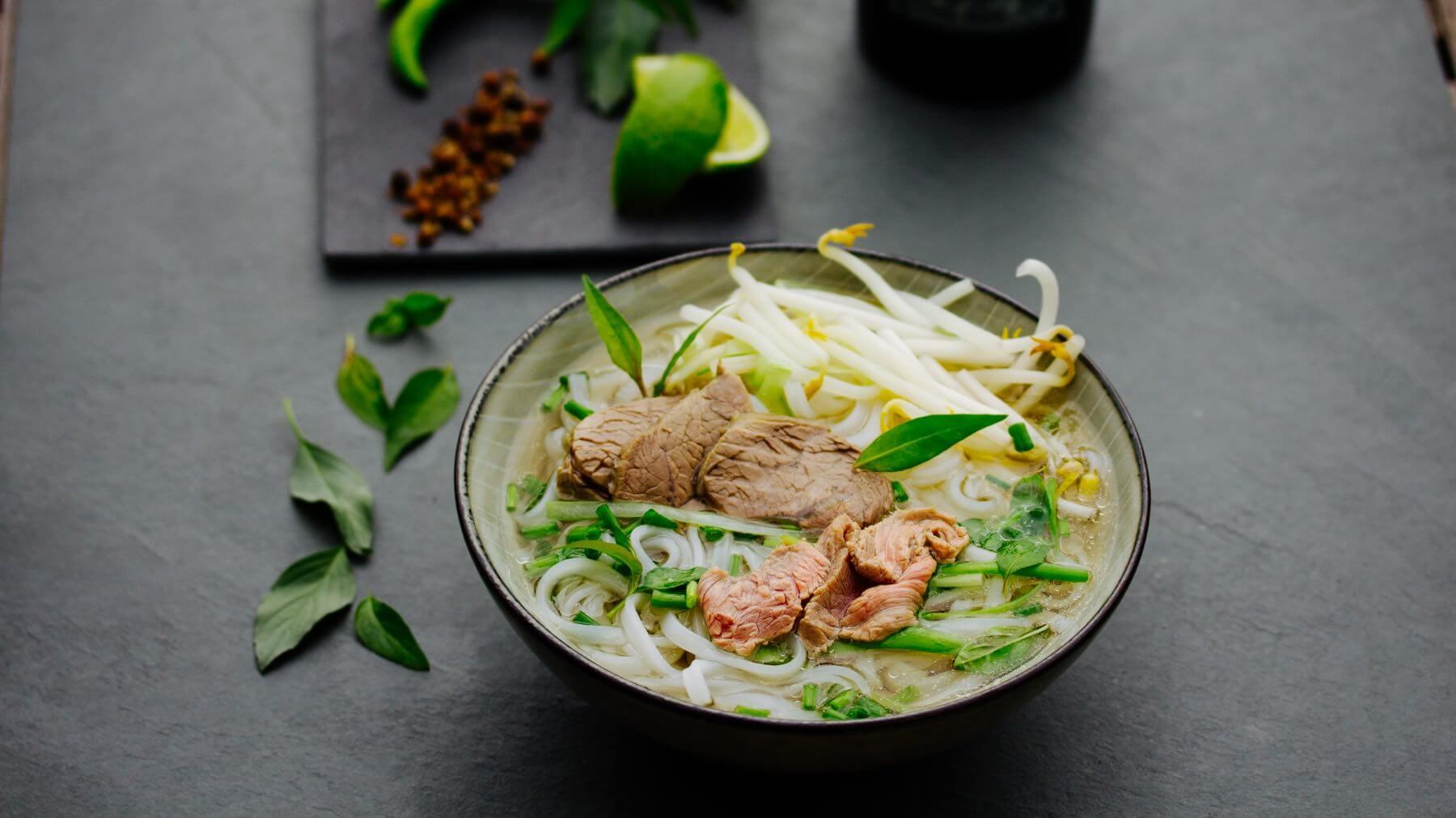 Pho Bo Saigon – Vietnamesische Nudelsuppe