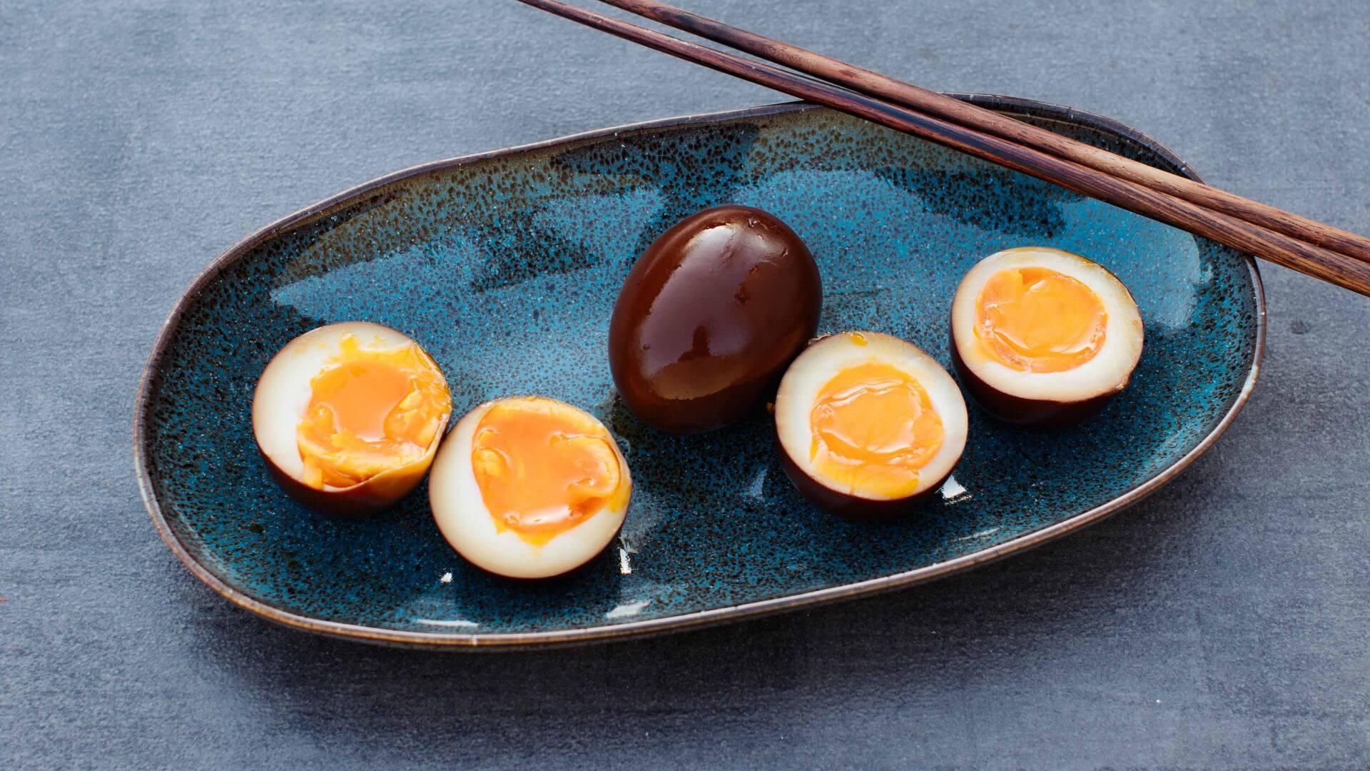 Ramen Eier