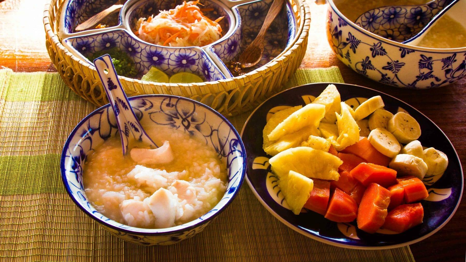 Kambodschanische Reissuppe - Babor Trey