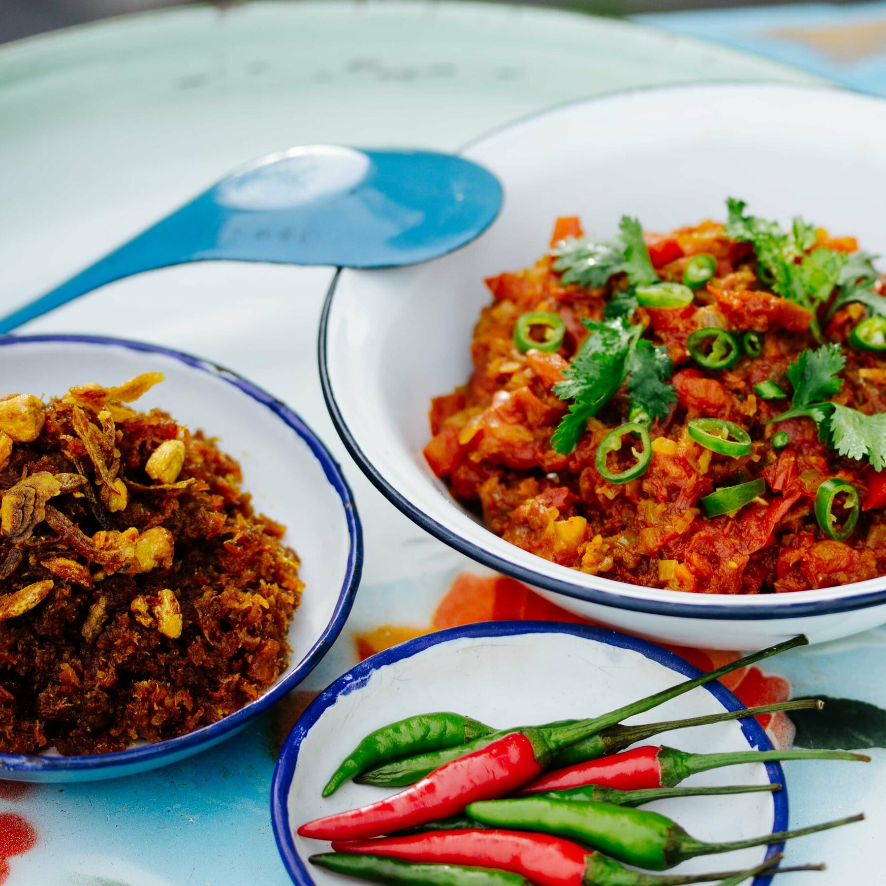 Burmesisches Relish and Dips - Balachaung