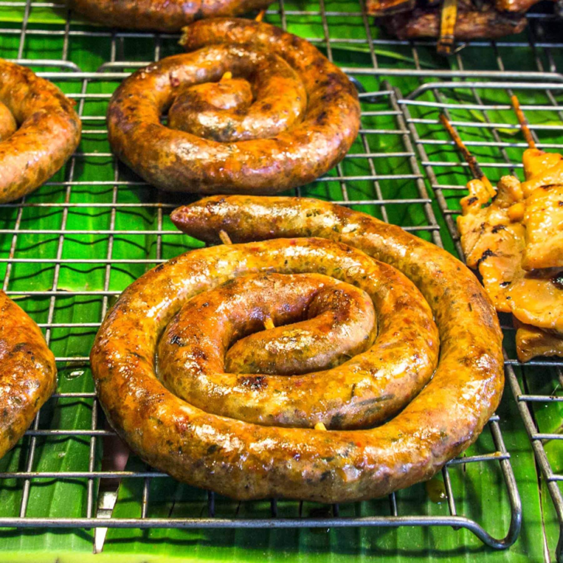 Sai Ua - Bratwurst aus Chiang Mai