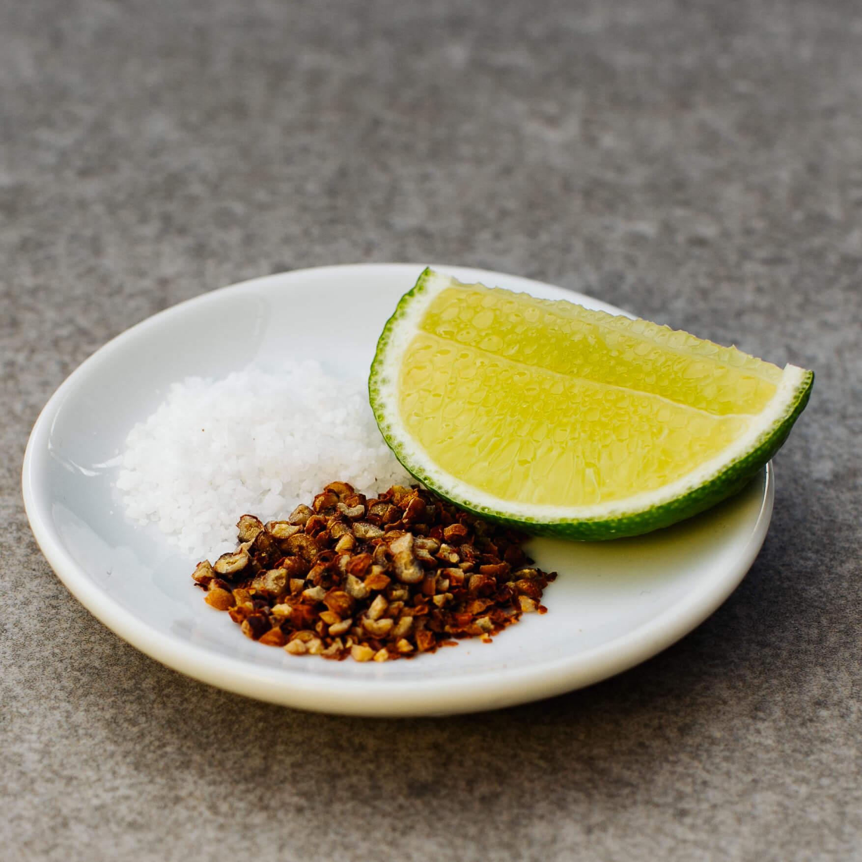 Salz-Pfeffer-Limetten Dip - Moui Tier Chanh