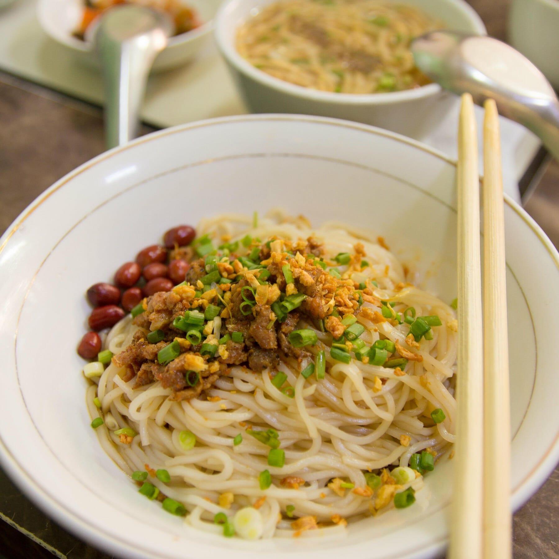 Shan Nudelsalat - Shan Khout Shwe